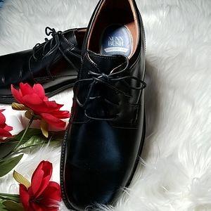 NIB NUNN BUSH MENS BLACK LACE UP DRESS SHOE